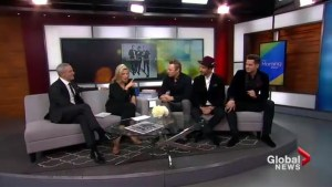 The Tenors on spreading holiday cheer as they prepare to head out on tour